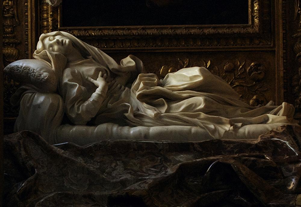San Francesco a Ripa in Trastevere. Bernini's Statue of Saint Ludovica Albertoni.