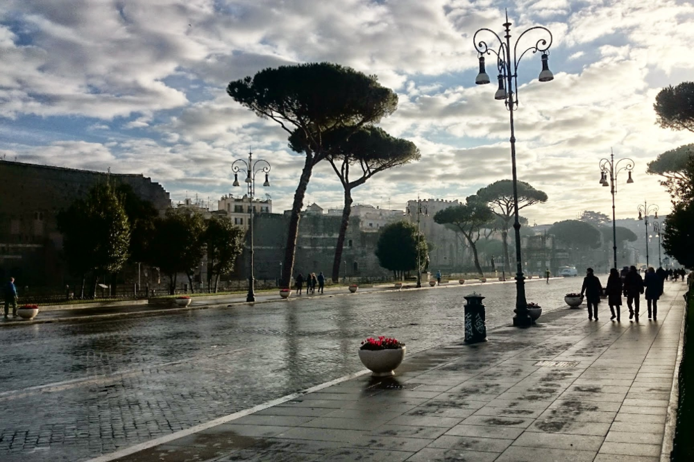Walking through the streets of Rome in the early morning is an experience you won't forget