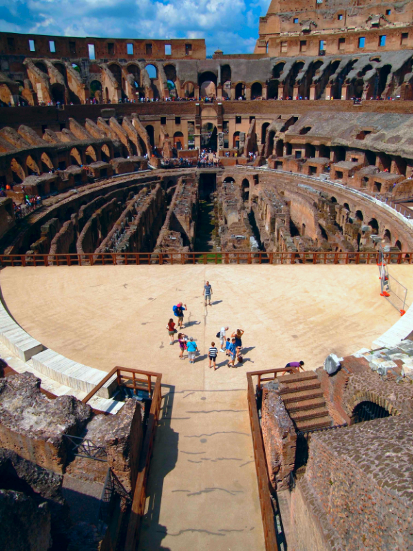 Visit the Colosseum Arena with Roma Experience's special Colosseum Underground Tour