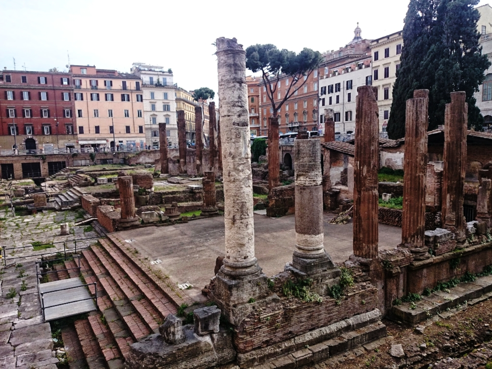 Tour in Rome City Center — Torre Argentina