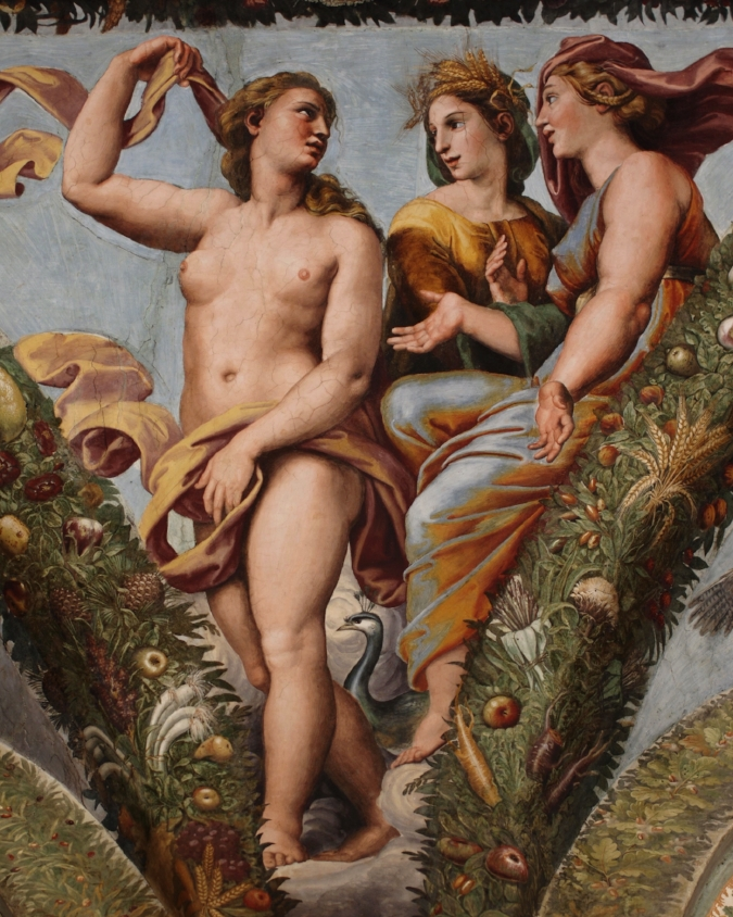 Raphael's decorations of Villa Farnesina in Rome