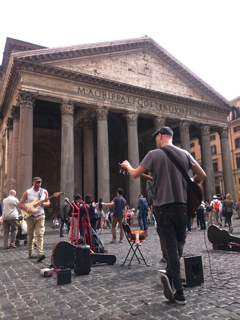 the pantheon in rome
