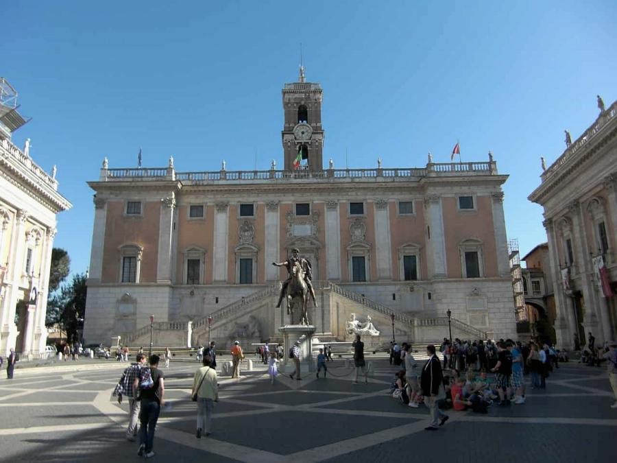 Campidoglio Square in Rome