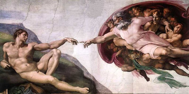Creation of Adam at the Vatican