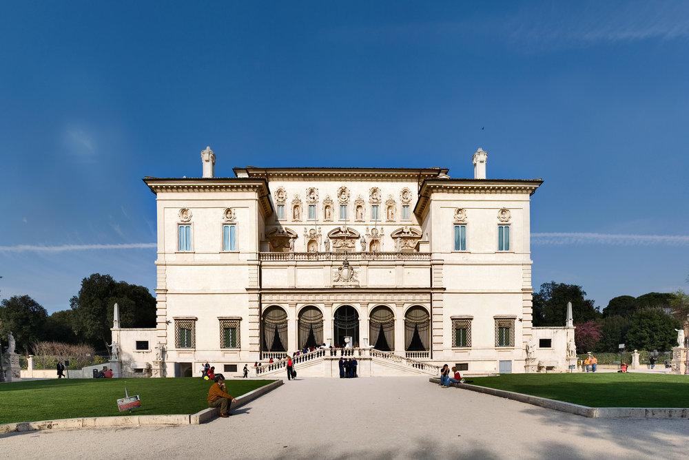 Villa Borghese in Rome