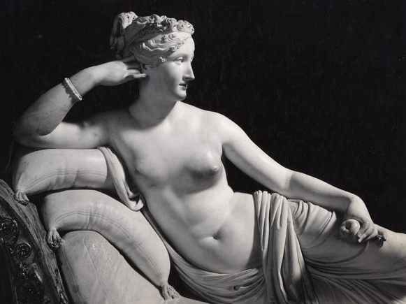 Paolina Borghese by Canova at the Borghese Gallery