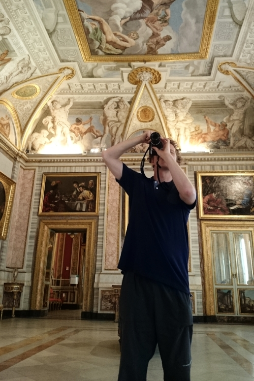Visiting the Borghese Gallery