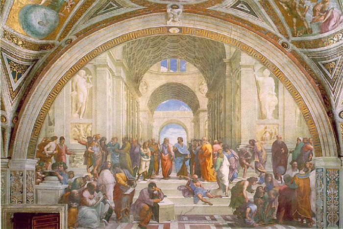 School of Athen Raphael Vatican Museums