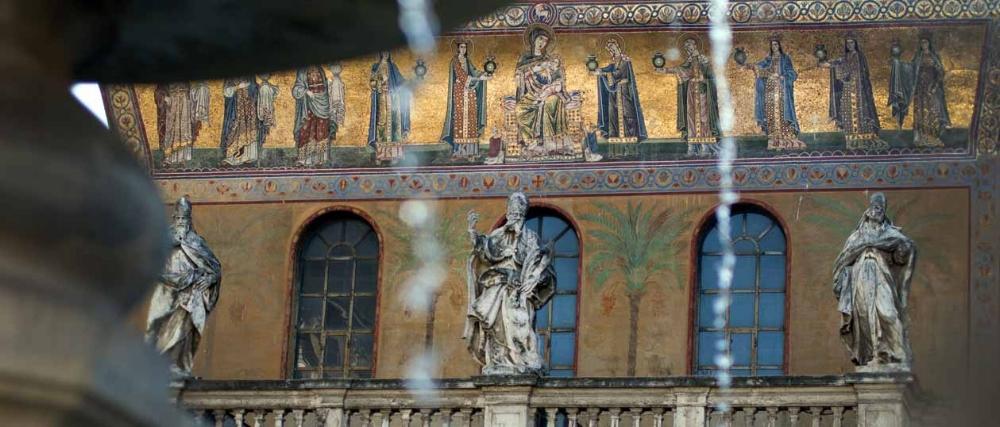 Santa Maria in Trastevere in Rome