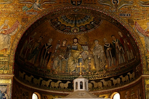 the mosaics of st mary in trastevere in rome