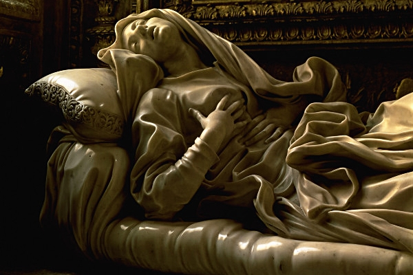 Statue of St Ludovica by Gianlorenzo Bernini