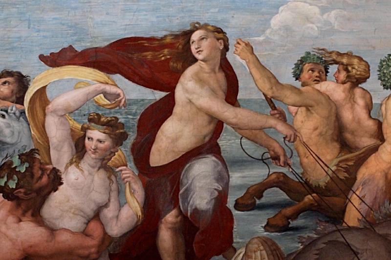 Raphael's Galatea at Villa Farnesina in Rome