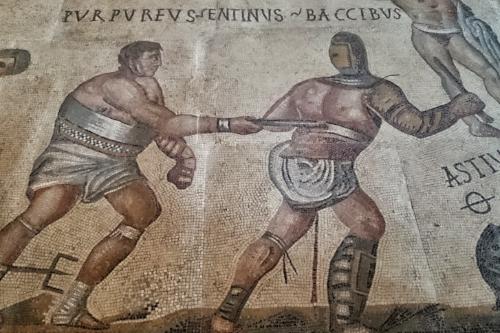 colosseum rome gladiators