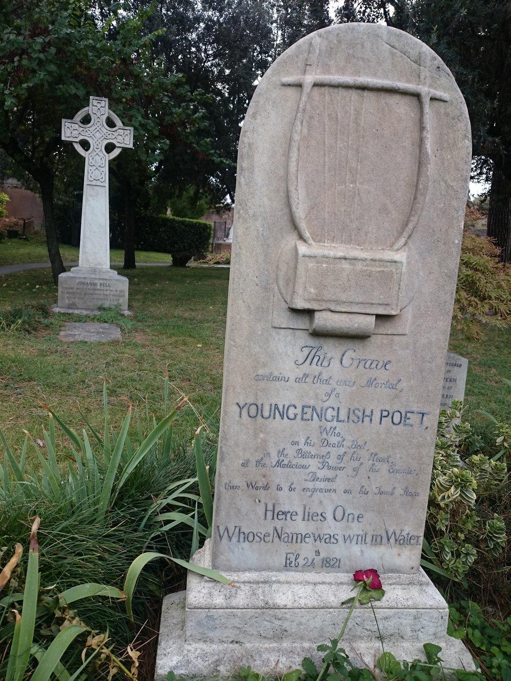 John Keat's Tomb
