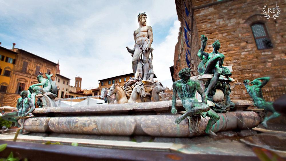 Florence Tour City Center Piazza della Signoria