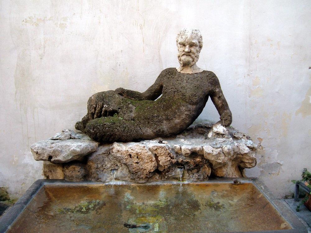 Babuino Talking Statue in Rome City Center