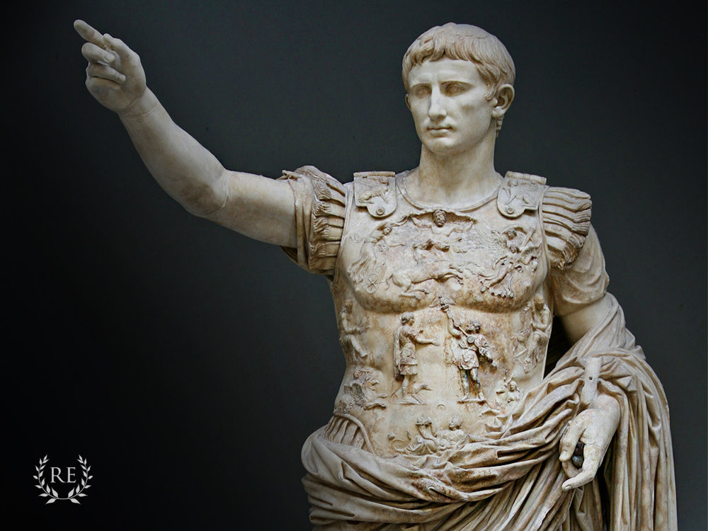Caesar Augustus, first emperor and founder of the Julio-Claudia dynasty
