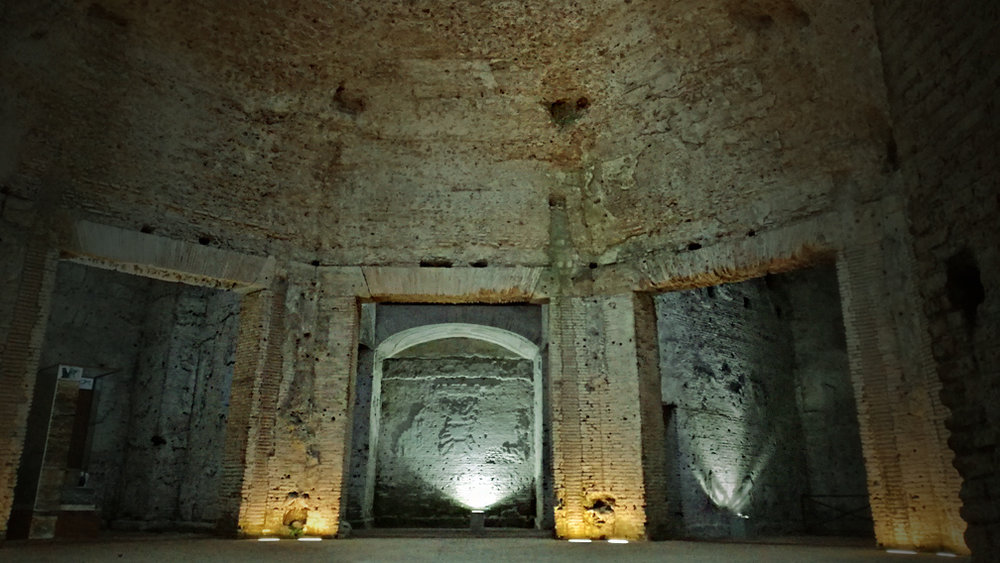 Octagonal Room, Domus Aurea, Nero's Palace