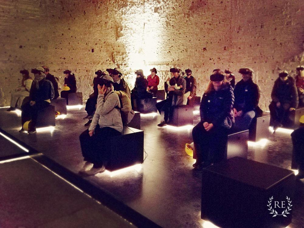 Virtual Tour of the Domus Aurea, Inside the Golden Vault Room, Nero's Palace
