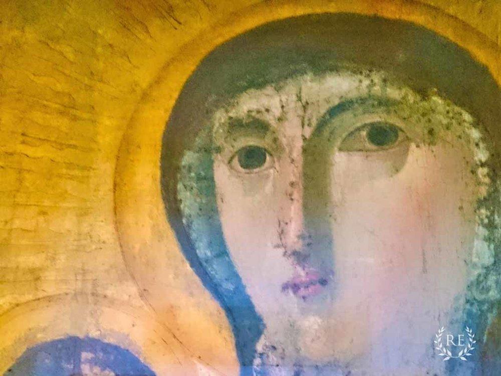 Virgin Mary in Francesca Romana Rome