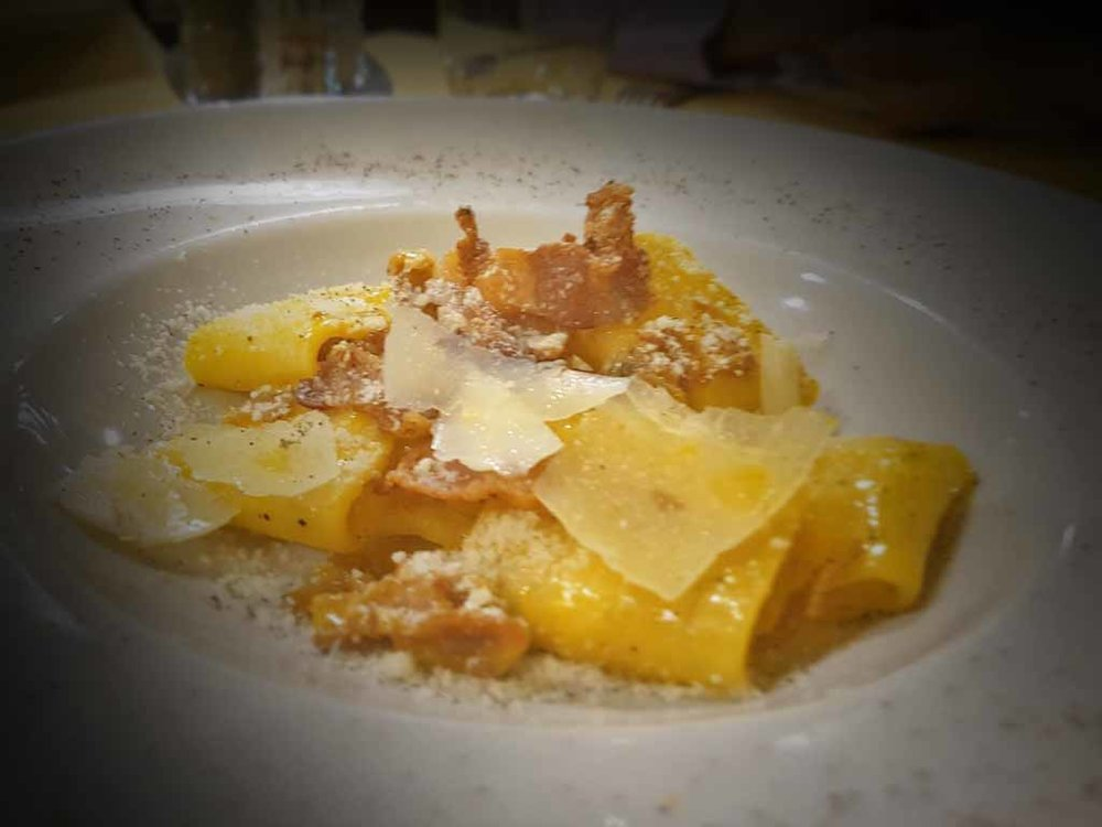 where to eat pasta in rome carbonara