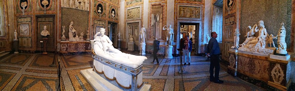 Visit the Borghese Gallery