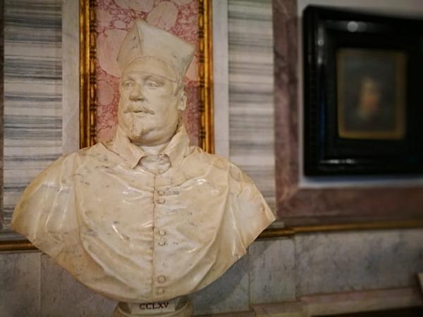 Bernini's Scipione at the Borghese Gallery