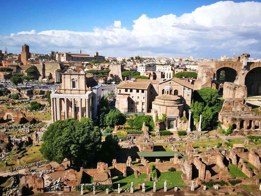 Roman Forum from Palatine
