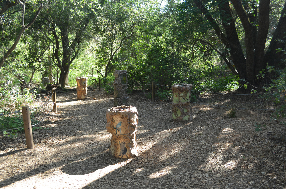 """Oak Idyll"" by the Jonestein Thought Factory Elfin Forest Recreational Reserve, Escondido, CA"