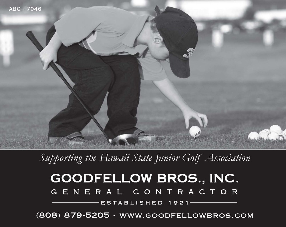 Hawaii State Junior Golf Association Sponsorship 2013 (5.5 in. x 4.25 in.)    (596K)