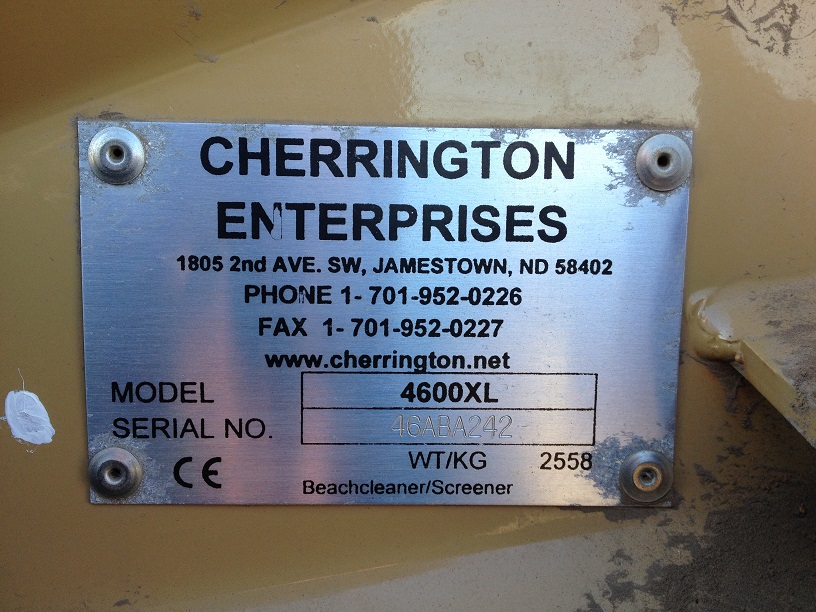 Serial Number Cherrington 4600XL.jpg