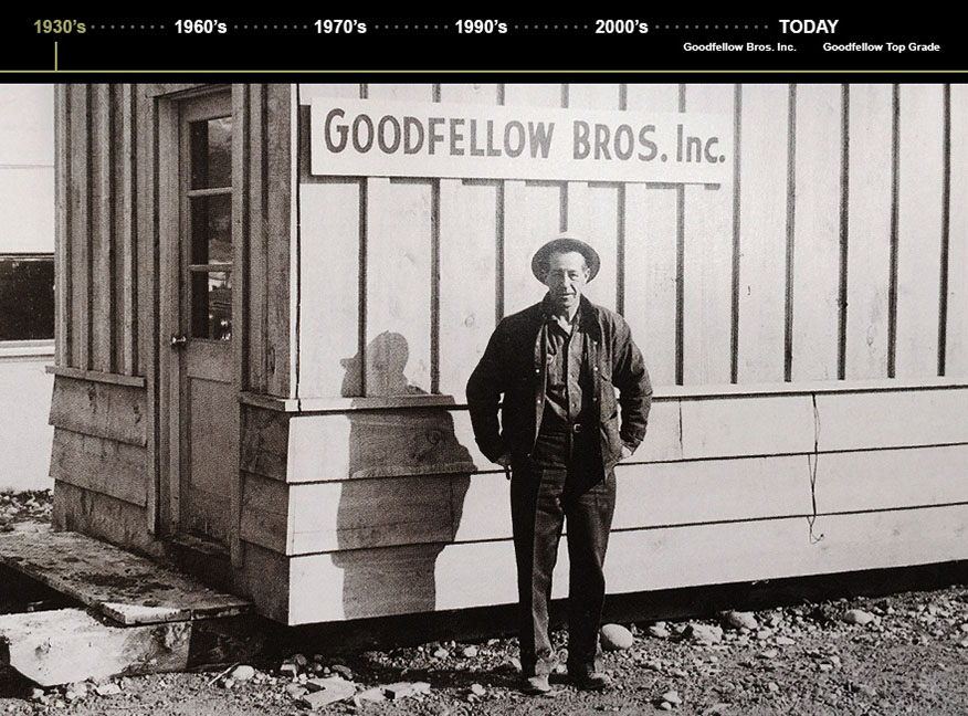 An early Goodfellow employee
