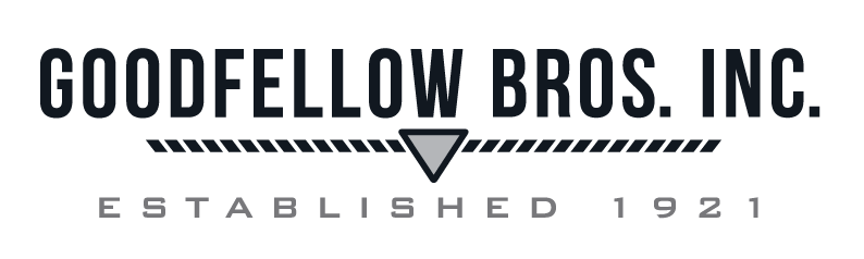 "Goodfellow Bros ""Established"" Logo - B&W"
