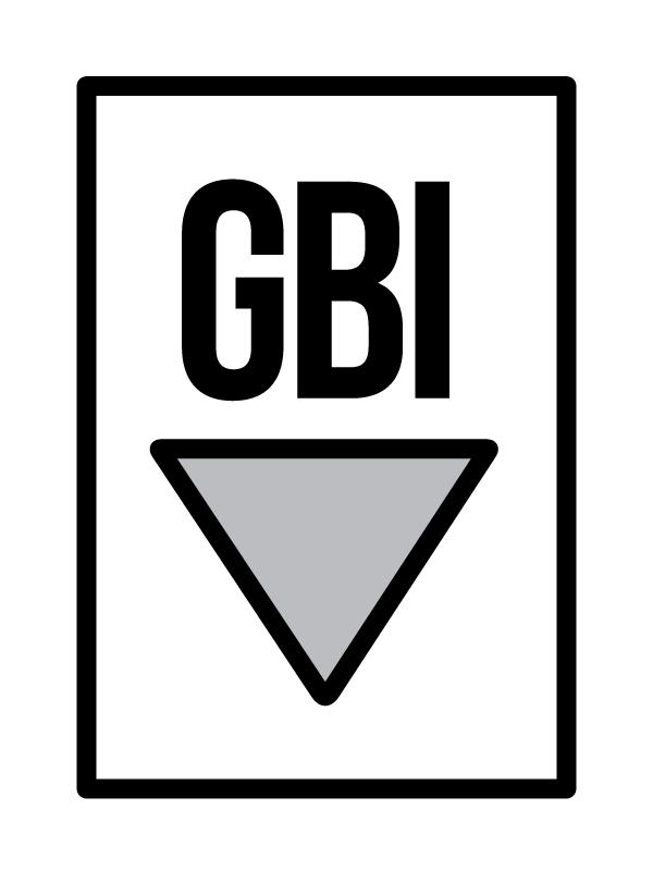 GBI Icon - B&W