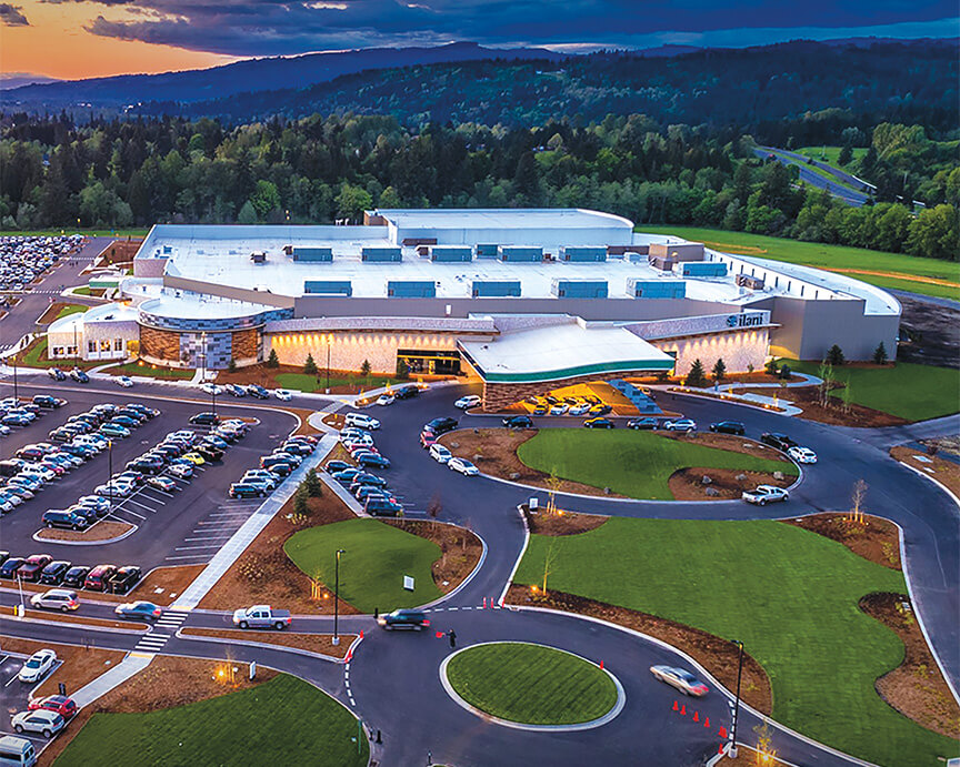 The Oregon Region's $47-million Ilani Casino project is complete.