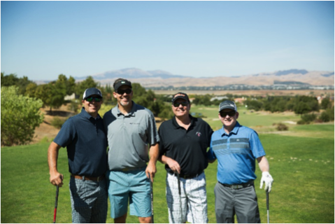 Photo Left to Right: Lew Carpenter (CBG Engineering), Brian Gates (GBI), Bo Rananovich (Mission Valley Homes), Jeff Frankel (TriPointe Homes)