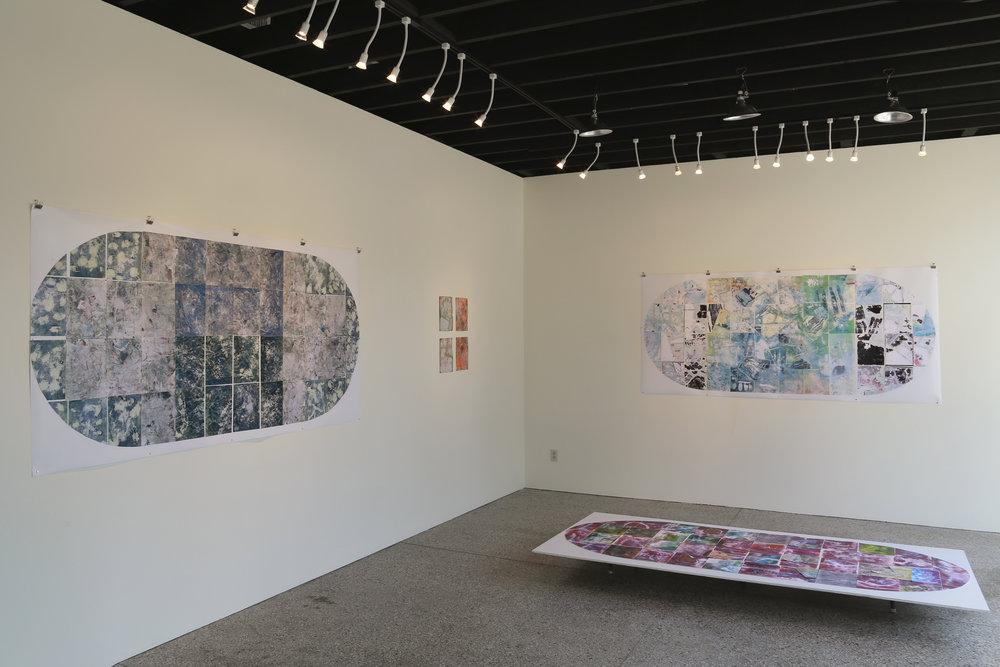Kiosk gallery interior
