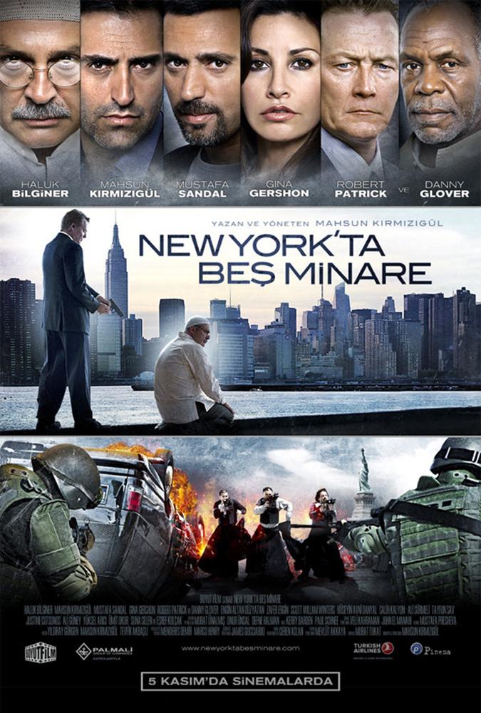 FIVE MINARETS IN NY