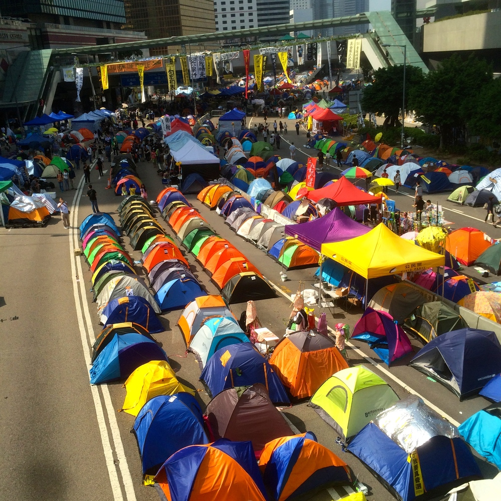 the heart of the #umbrellarevolution