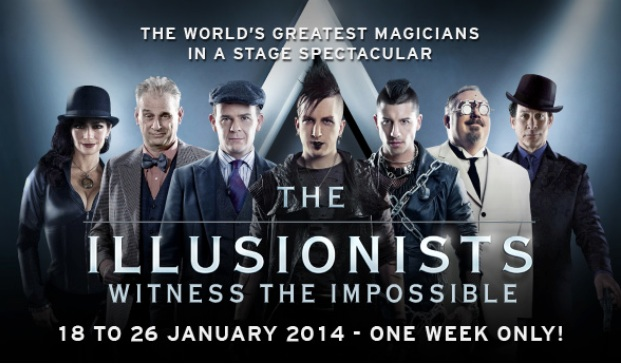 Dave will be touring with the cast of The Illusionists Live beginning in 2014.