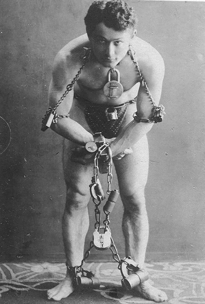 Houdini was famous for being able to escape from anything!