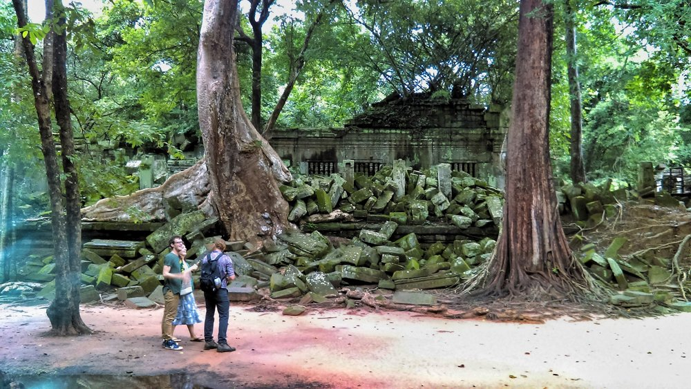 A day trip to Beng Mealea, chosen by visitors who wanted to visit part of the Angkor Wat Archaeological Site, but avoid the crowds of the main temples.