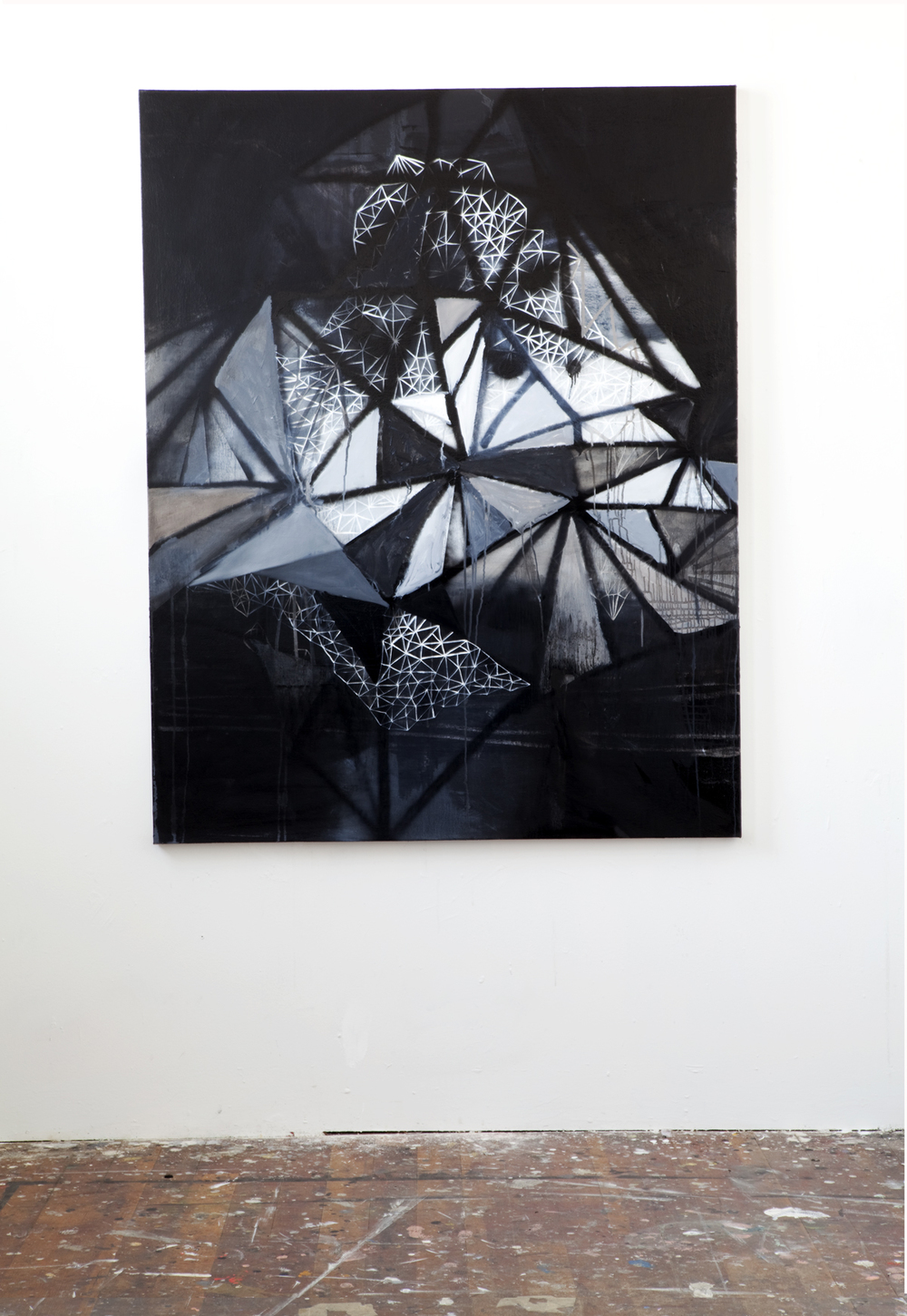 crystalline carbon  (studio shot)