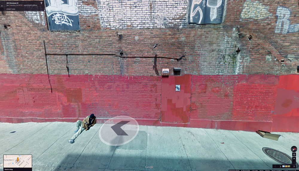 "Photo: Courtesy Of The Artist    Local duo COLL.EO shows ""A New American Dream,"" a 2014 set of framed digital prints of images from Google Street View."