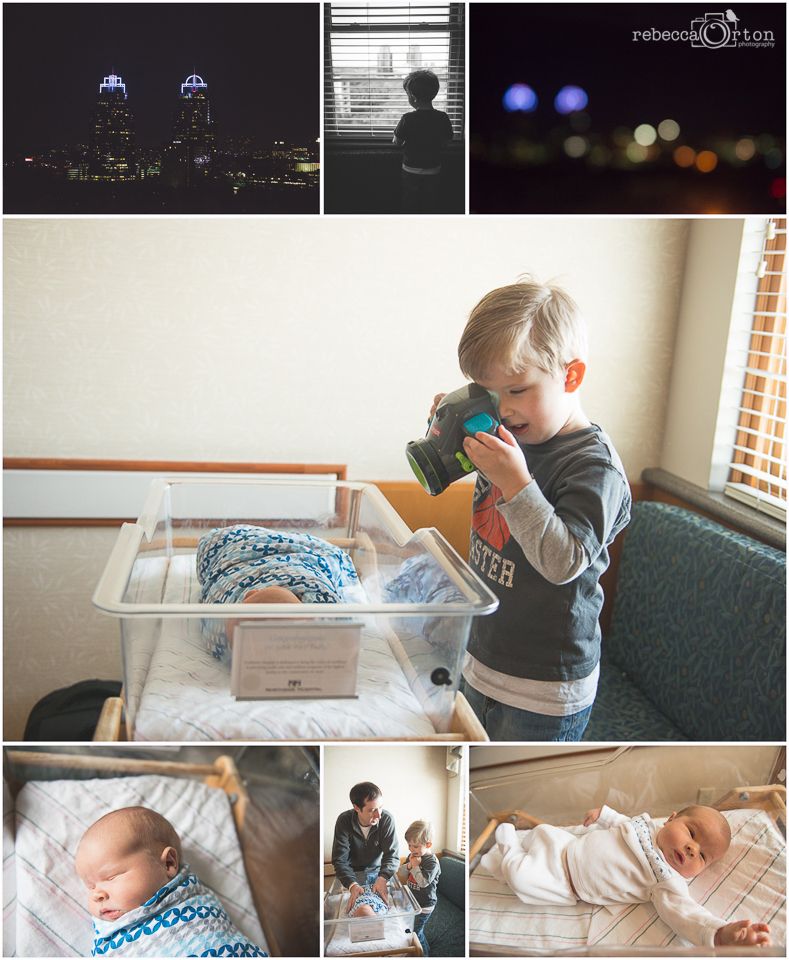 2.3.2015 Jack's big brother gift and our last day in the hospital