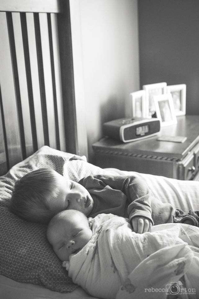 2.18.2015 Pre naptime snuggles.