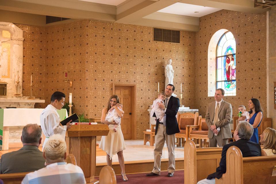 catholic triplet baptism