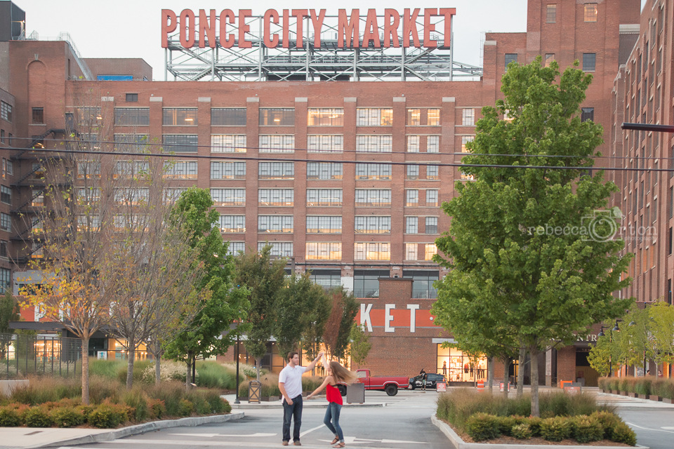 ponce city market cute couple