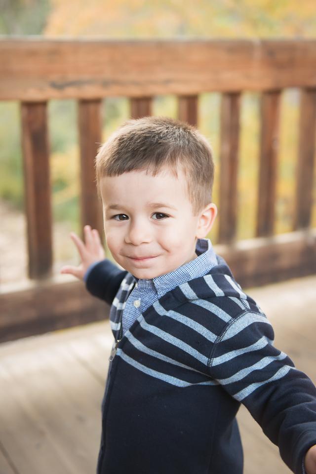 3 year old cute boy
