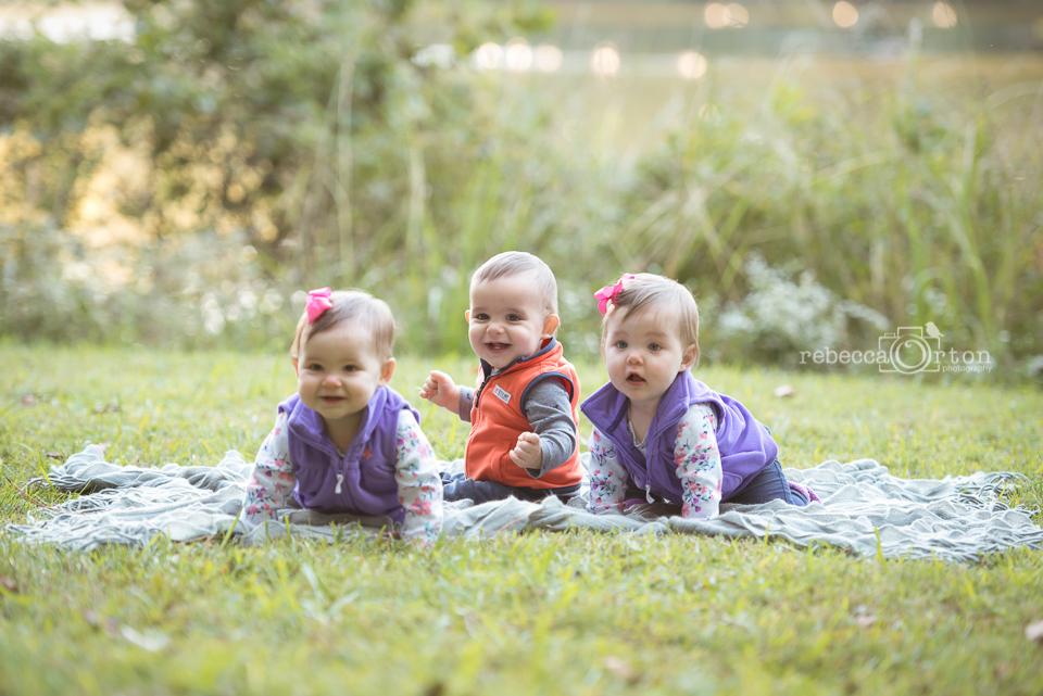 triplet babies lullwater park decatur
